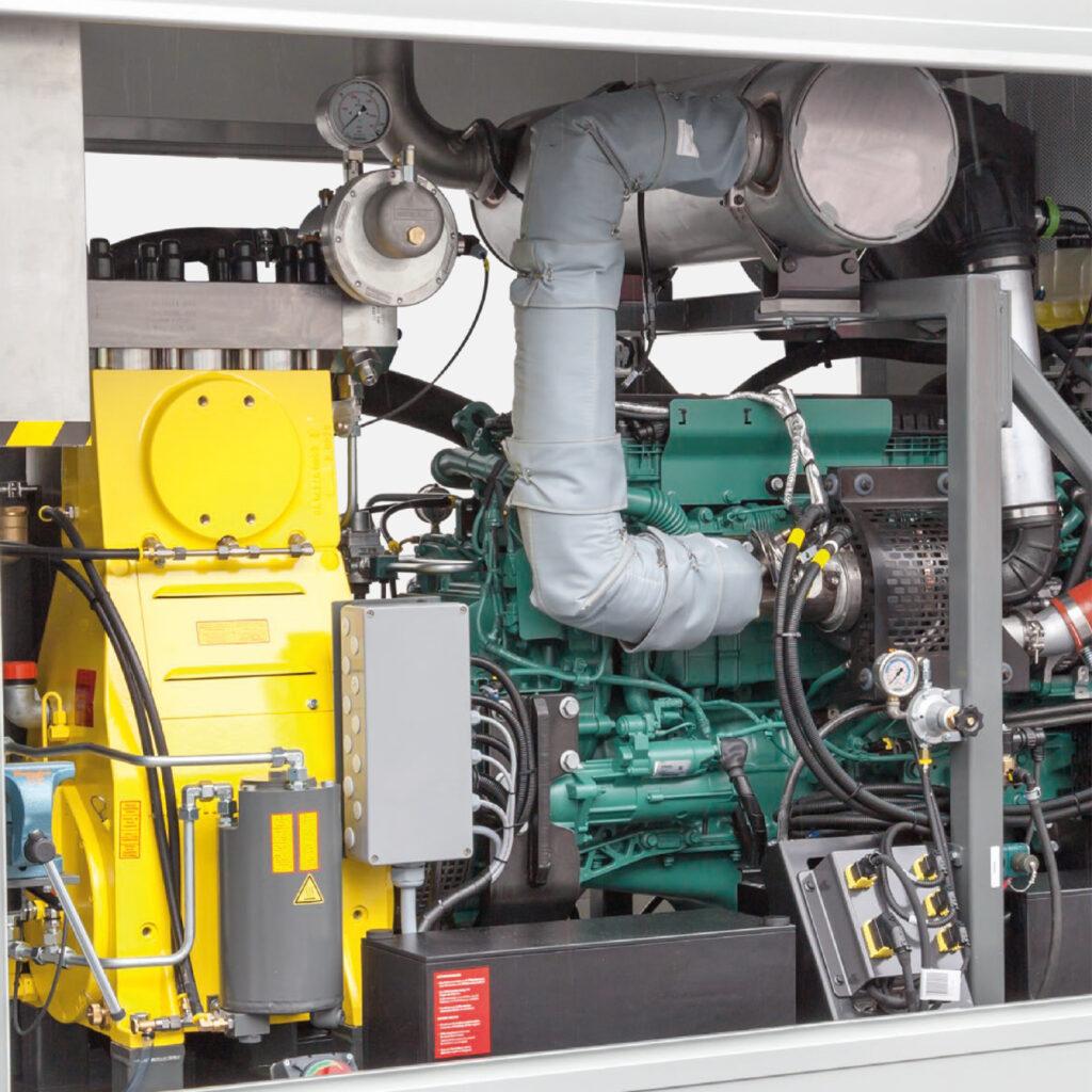 Impulsadas con motor Diesel
